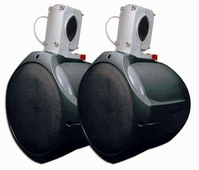 MCM Custom Audio 60-10021 Marine Wakeboard Speaker Pair