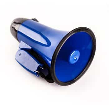 Sugar home Portable megaphone bullhorn 20 Watt Power Megaphone Speaker