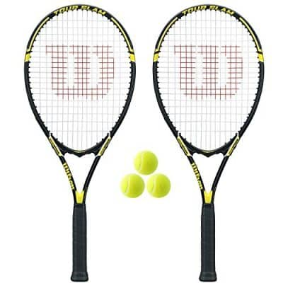 Wilson Tour Slam Adult Strung Tennis Racket
