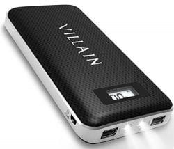 Villain Power Bank Portable Charger 20000mAh Battery Pack