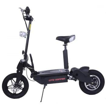 RASSINÉ City Hopper CH16 BK Super Turbo 1000W Foldable Electric Scooter