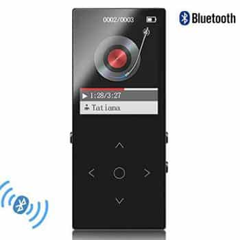 HONGYU Bluetooth mp3 player Touch Button