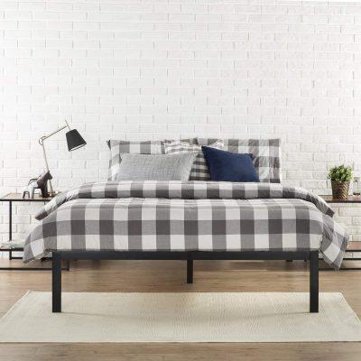 Zinus Modern Studio 14 Inch Platform 1500 Metal Bed Frame