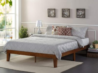 Zinus 12 Inch Wood Platform Bed