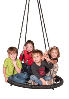 M & M Sales Enterprises Web Riderz Outdoor Swing N' Spin