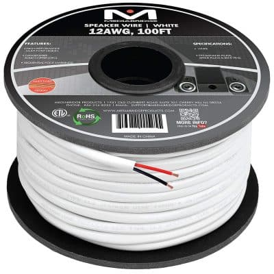 Mediabridge 12AWG 2-Conductor Speaker Wire