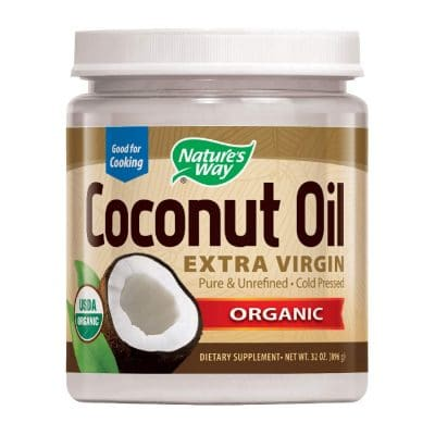 Nature's Way Organic Extra Virgin Coconut Oil- Pure