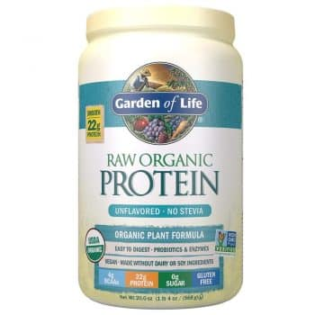 Garden of Life Organic Vegan Protein Powder with Vitamins and Probiotics