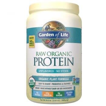 Garden of Life Organic Vegan Protein Powder with Vitamins and Probiotics