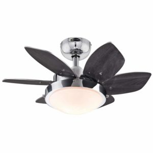 Westinghouse 7863100 Quince 24-Inch Chrome Indoor Ceiling Fan
