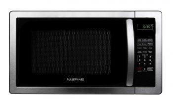 Farberware FMWO11AHTBKB Classic FMO11AHTBKB 1.1 Cubic Foot 1000-Watt Microwave Oven