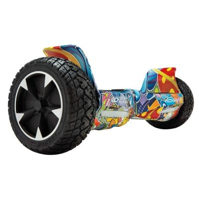 "GOTRAX Hoverfly XL All Terrain Hover board 8.5"" Solid Rubber Tire"