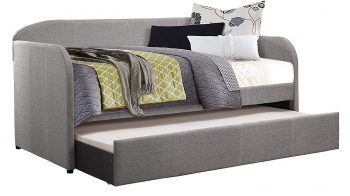 Homelegance Modern Design Daybed with Trundle Fully Upholstered Polyester