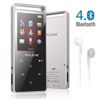 MP3 Music Player with Bluetooth 4.0