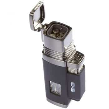 Moretti Vertigo Churchill Quad Flame Butane Torch Cigar Lighter