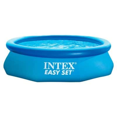 "Intex 10' x 30"" Easy Set Above Ground Inflatable Swimming Pool"
