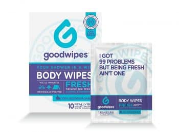 Goodwipes Hygiene Wipes for When You Can't Showe