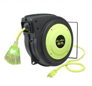 Flexzilla ZillaReel 50 ft. Retractable Extension Cord Reel
