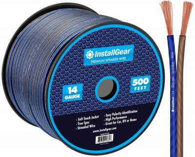 InstallGear 14 Gauge AWG 500ft Speaker Wire