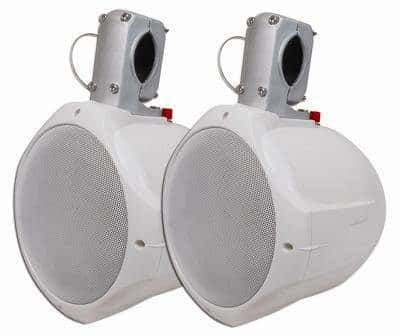 "MCM Custom Audio 60-10020 6 1/2"" Marine Wakeboard Two-Way Speaker Pair"