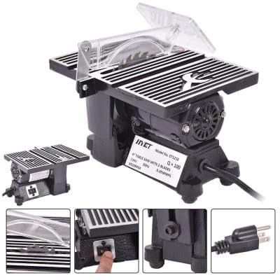 Mini Electric Table Saw Tablesaw