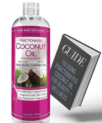 Fractionated Coconut Oil for Hair and Skin