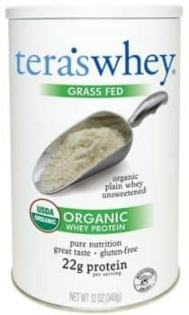 teraswhey Grass Fed Organic Whey Protein