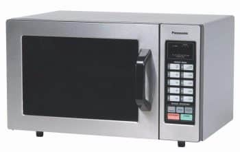 Panasonic NE-1054F Stainless 1000W 0.8 Cu. Ft. Commercial Microwave Oven