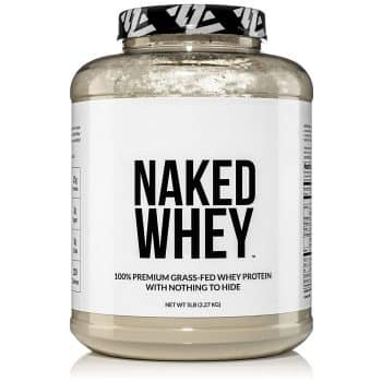 NAKED WHEY 5LB 100% Grass Fed Whey Protein Powder