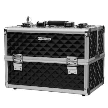 "SONGMICS 13.5"" Makeup Train Case Professional"