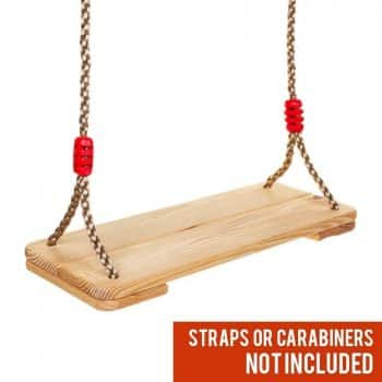 Outdoor Wooden Tree Swing for Adults Kids