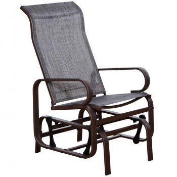 SunLife Patio Glider Rocking Chair