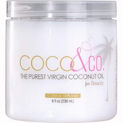 Coconut Oil for Hair & Skin By COCO&CO. Beauty Grade 100% RAW