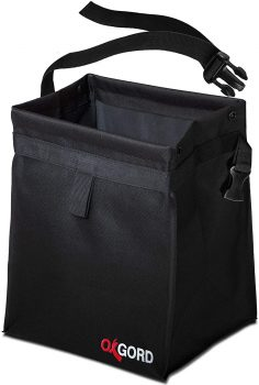 OxGord Car Trash Bag Waste Bin