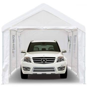 Peaktop 20'x10' Heavy Duty Portable Carport Garage Car Shelter Canopy Party Tent
