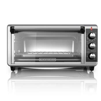Black and Decker 8 Slice Extra Wide Convection Countertop Toaster Oven