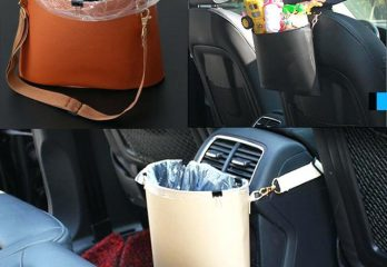 Car Trash Cans and Bag