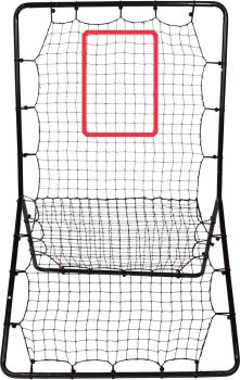 Multi-Sport Pitch back Screen – Full Size Rebound Net Return Trainer ELITE