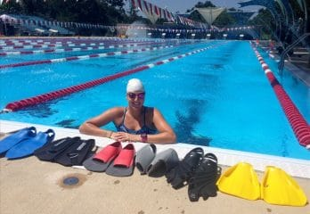 Swim Fins for Lap Swimming