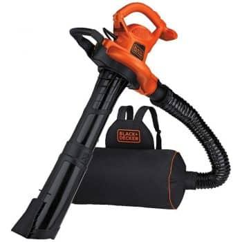 BLACK+DECKER BEBL7000 Back Pack Leaf Blower Vacuum & Mulcher