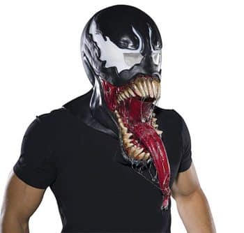 Marvel Rubie's Costume Co Men's Universe Deluxe Venom Latex Mask