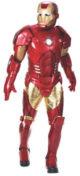 Marvel Rubie's Costume Co Men's Universe Supreme Edition Iron Man Costume