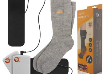 Electric Heated Socks for Chronically Cold Feet
