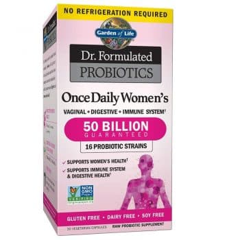 Garden of Life Dr. Formulated Once Daily Women's Shelf Stable Probiotics 16 Strains
