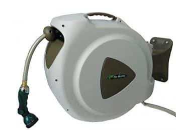 Retractable Hose Reel, 65-Foot