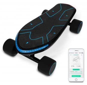 Swagtron Swagboard Spectra Advanced Electric Cruiser Skateboard
