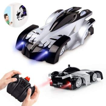 Epoch Air Rc Cars for Kids Remote Control Car Toys Wall Climbing Dual Mode 360°Rotating Stunt Rechargeable High Speed Vehicle with LED Lights Xmas Gift for Boys Girls Age of 3,4,5,6,7,8-16 Year Old