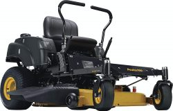 Poulan Pro P46ZX Briggs V-Twin Pro 22 HP Cutting Deck Zero Turn Radius Riding Mower
