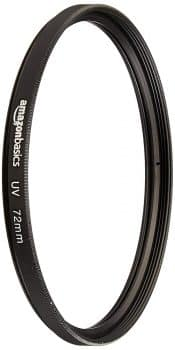 AmazonBasics UV Protection Lens Filter