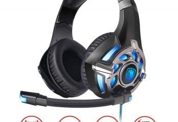 SADES PC Gaming Headset 7.1 Surround Stereo PC Pro USB